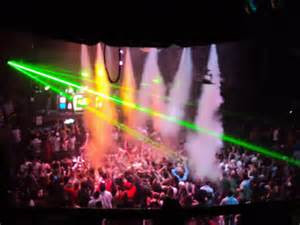 Miami Nightclub blasting Cryogenic Special Effects Smoke from CO2 Cryo Jets from Atlanta Special FX