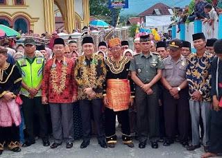 Danramil Sitinjau Laut hadiriAcara Kenduri Seko di Desa Koto Padang