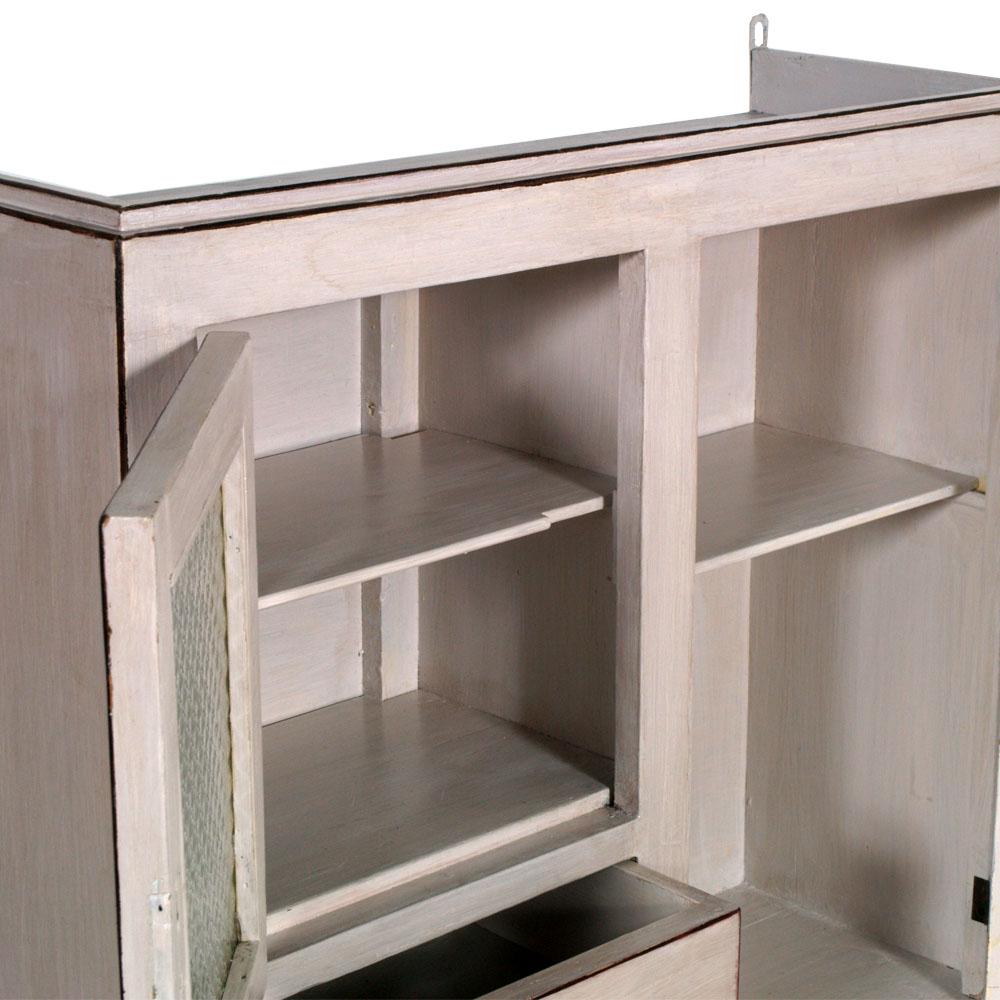 Vetrina shabby chic alzata cucina da parete design myartistic - Mobili laccati bianchi ...