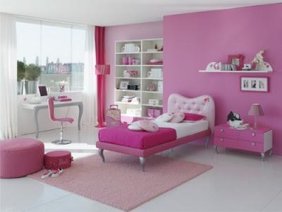 Pink Tumblr Bedroom for Girl Set