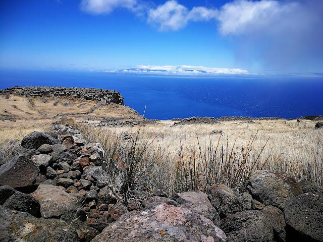 Blick von Teno Alto nach La Gomera