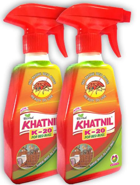 Khatnil K20 Herbal Bed Bugs Repellant 100ML Pack of 2
