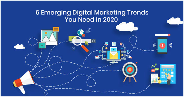 Top Six Trends of Digital Marketing That Will Rule 2020