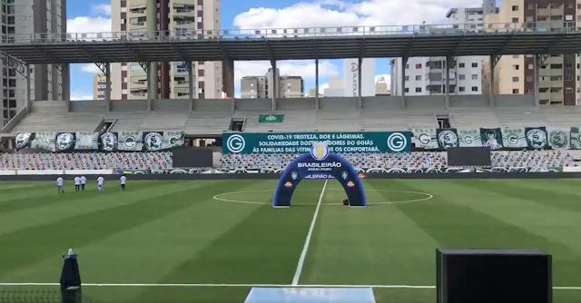 jogo do Goiás adiado