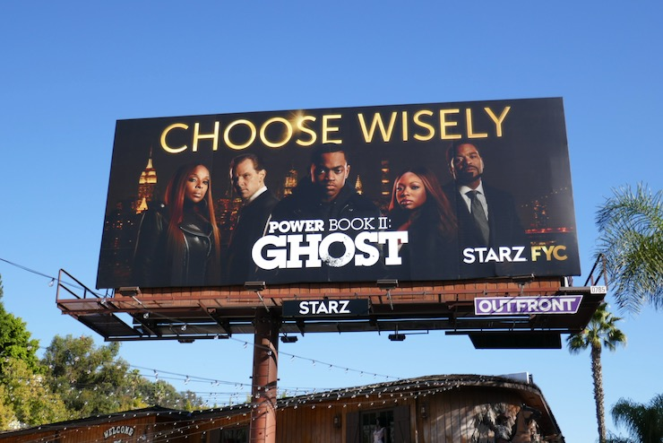 Power Book II Ghost season 1 FYC billboard