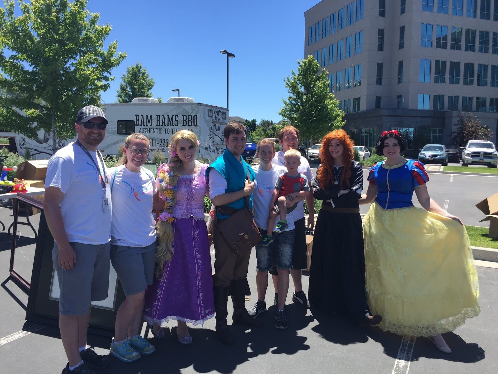 volunteers and party with the princesses at our fertility fundraiser