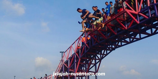 jembatan cinta wisata pulau tidung
