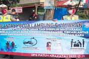 Berikut Hasil Giat Ops Patuh Krakatau 2020 di Polda Lampung