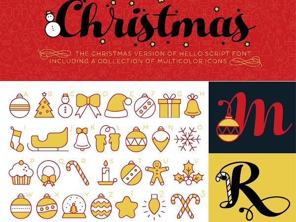 Hello Script Christmas Font Free Download
