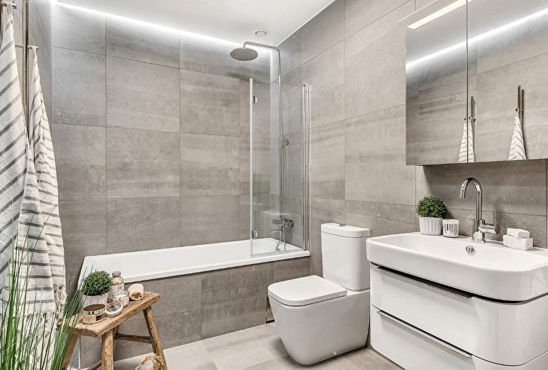 30 Modern Bathroom Tile Design Ideas 2019