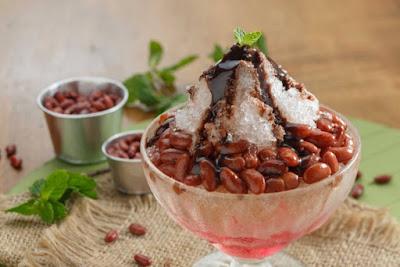 Es kacang merah Palembang