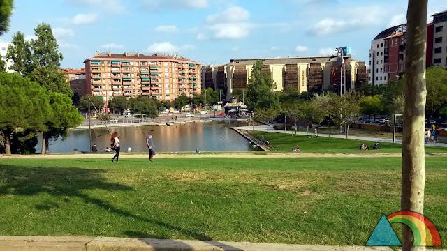 Parque de Catalunya en Sabadell