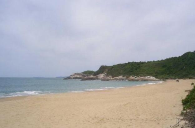 Sea of Praia do Pinho-Balneario Camboriu, Brazil