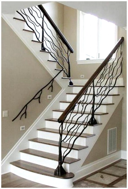Aesthetic Staircase Railing Designs Amazing Ideas: Andrea Hebard Interior Design Blog: Stair Railings