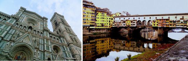 Atrações gratuitas em Florença: o Duomo e Ponte Vecchio
