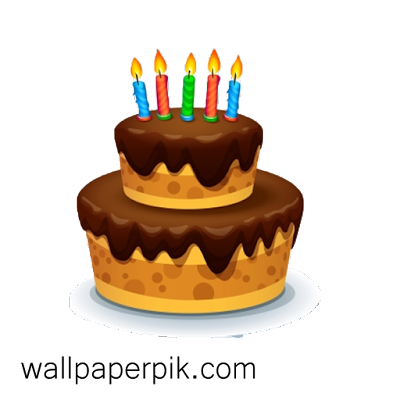 Happy Birthday PNG  cake candle