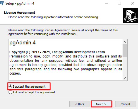 pgAdmin 4 download and installation tutorial for Windows 10