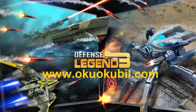 Defense Legend 3 Future War v2.5.2 Sınırsız Para Mod Apk İndir 2020