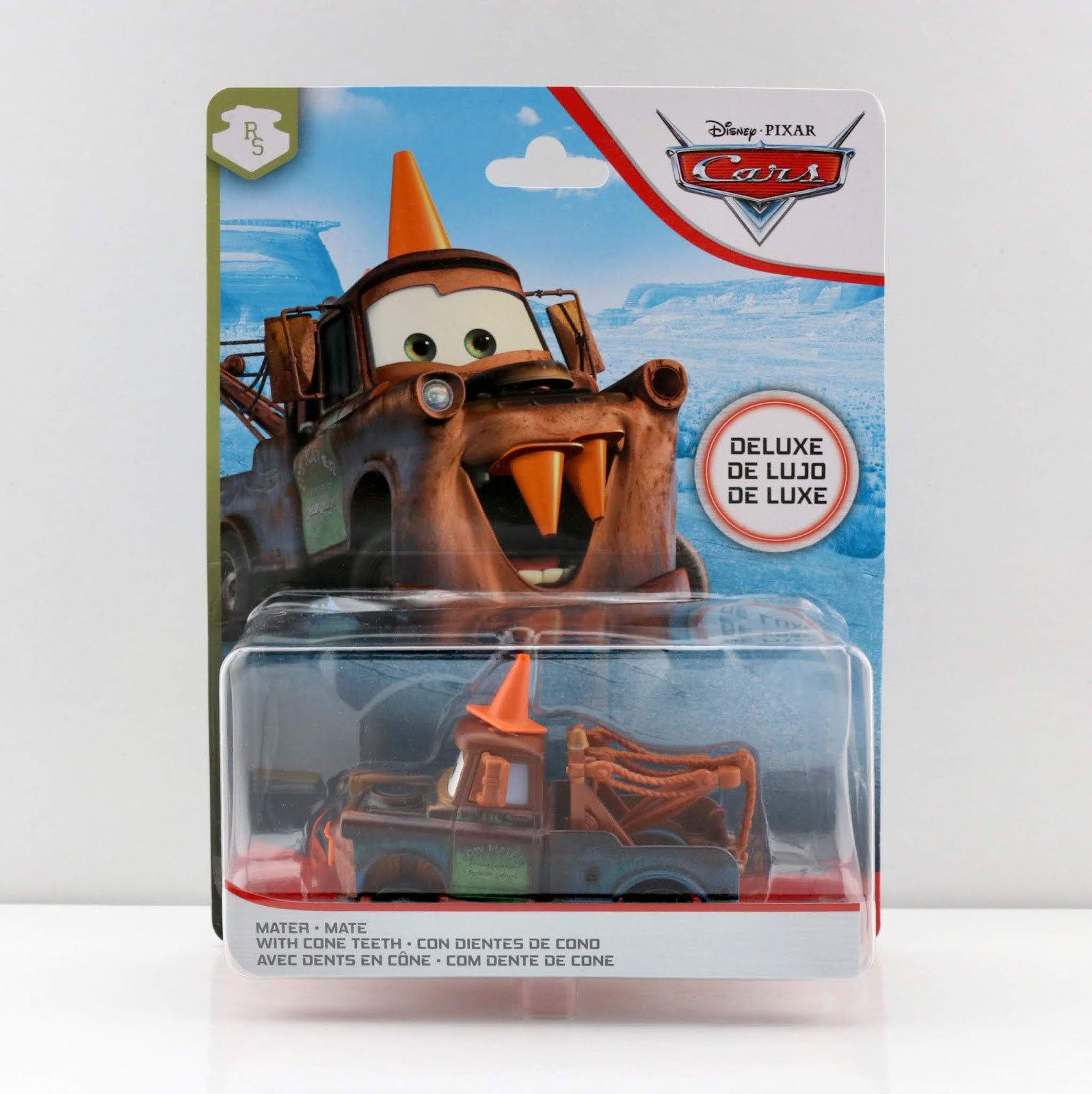 mater with cone teeth diecast review mattel
