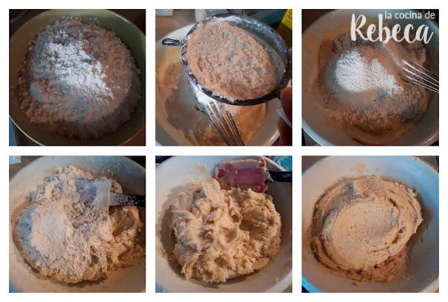 Receta de pastas de té con chocolate: la masa (2)