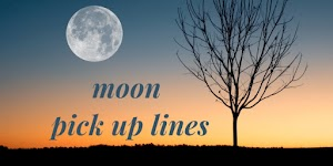 Moon Pick Up Lines 🌛 For Your Beautiful (◐‿◑) Crush -pickuplines