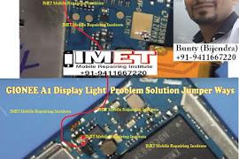 Gionee A1 Display Light Problem Solution Jumper Ways - IMET