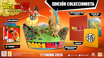 DRAGON BALL Z: KAKAROT estará disponible en las ediciones Standard, Deluxe, Ultimate y Collector