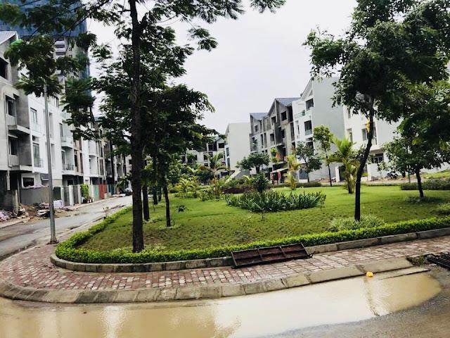 Công viên xanh, đường dạo bộ