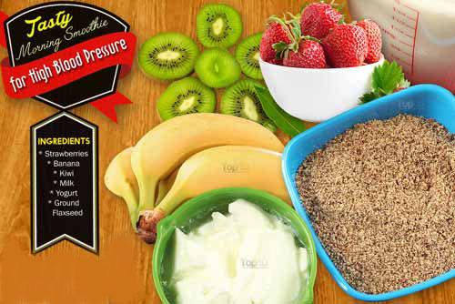 Tự làm sinh tố thơm ngon cho bữa sáng chữa bệnh huyết áp cao