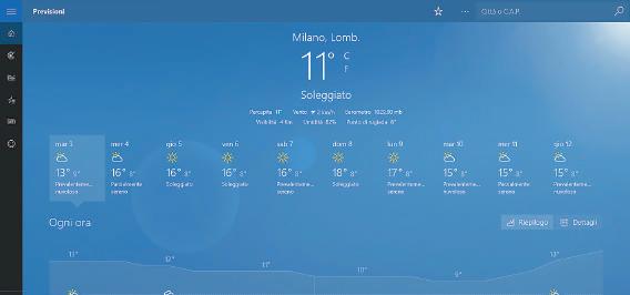 msn meteo migliore app windows 10 gratis