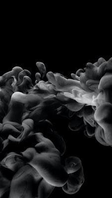 دخان لون اسود