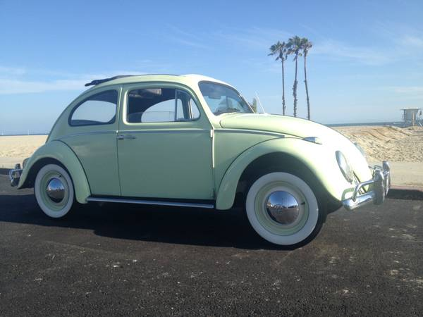 1961 VW Bug Original Ragtop