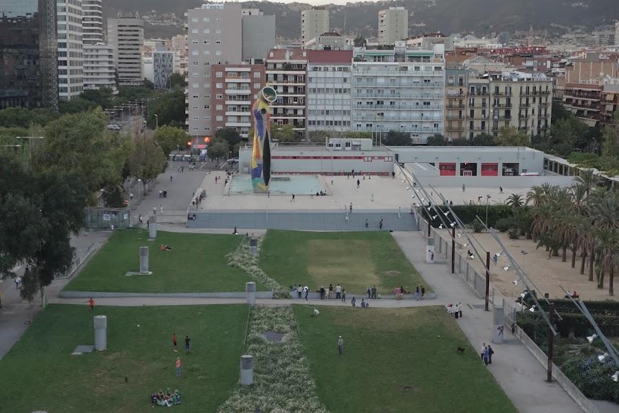 ジョアン・ミロ公園(Parc de Joan Miro)