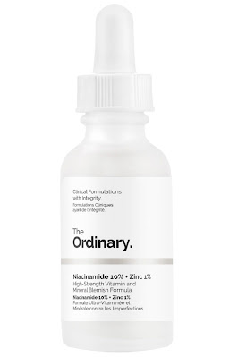 3- The Ordinary Niacinamide 10% + Zinc 1%