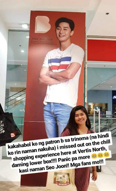 Park Seo Joon in Manila for Bench FM