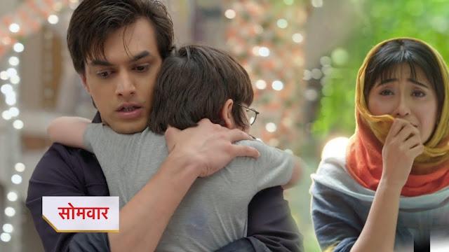 New Twist : Kairav's shocking demand to stay with father Kartik in YRKKH