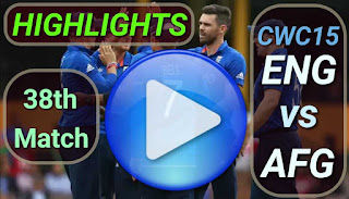 ENG vs AFG 38th Match