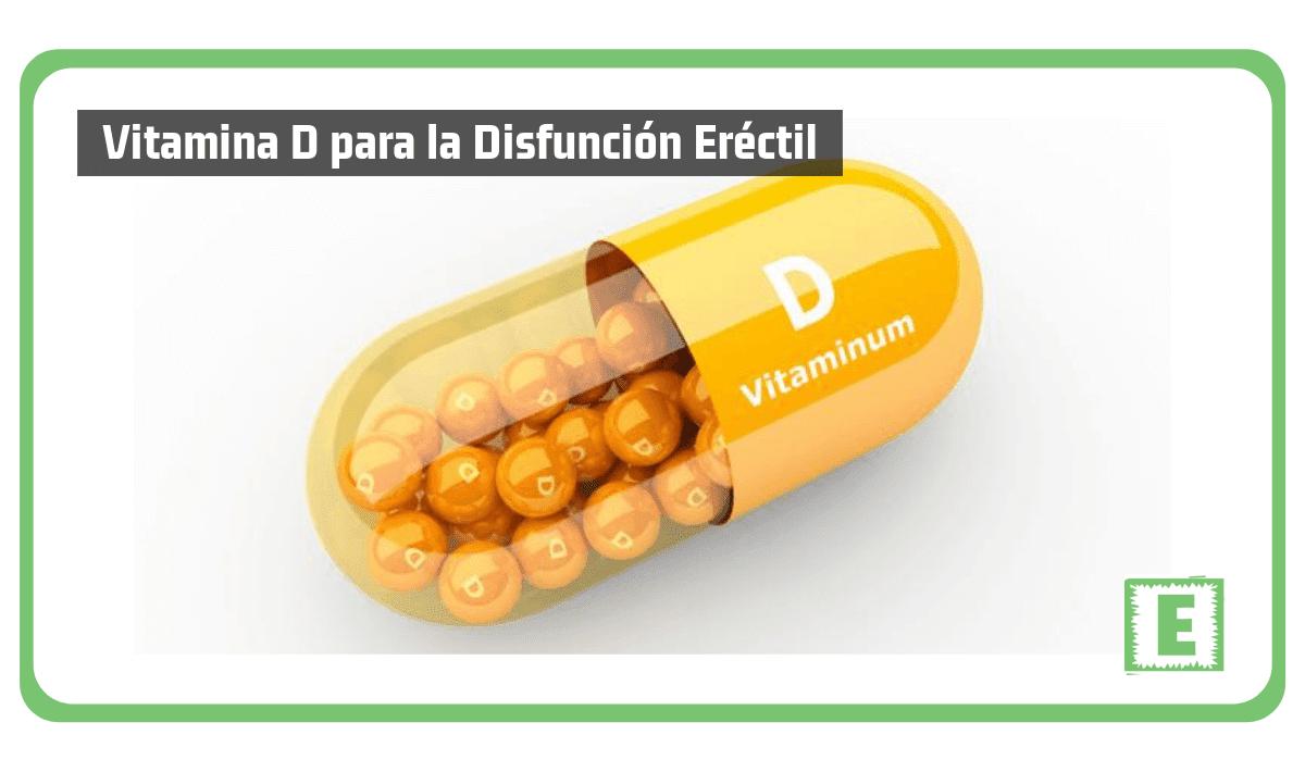 Vitamina D para la Disfunción Eréctil