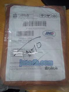 Paket Pembelian dari Blibli.com
