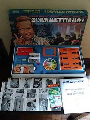 """Il gioco in scatola di """"Scommettiamo"""" con Mike Bongiorno"""