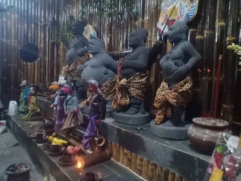 Ada Eyang Semar di Vihara Sian Jin Ku Poh Tajur Halang Bogor