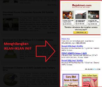 Menghilangkan Iklan Pada Browser Dan Youtube