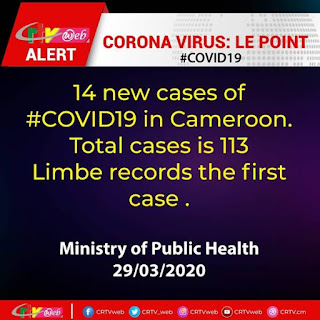 Cameroon records 3rd Covid-19 death, Cases Surpass 100