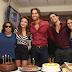 """Elenco y producción celebran el cumpleaños de Angelique Boyer, protagonista de """"Tres Veces Ana"""""""