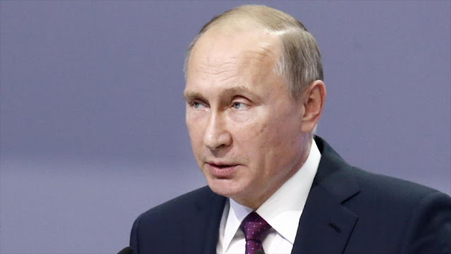 Putin: Cooperación militar con otros países será secreto de Estado