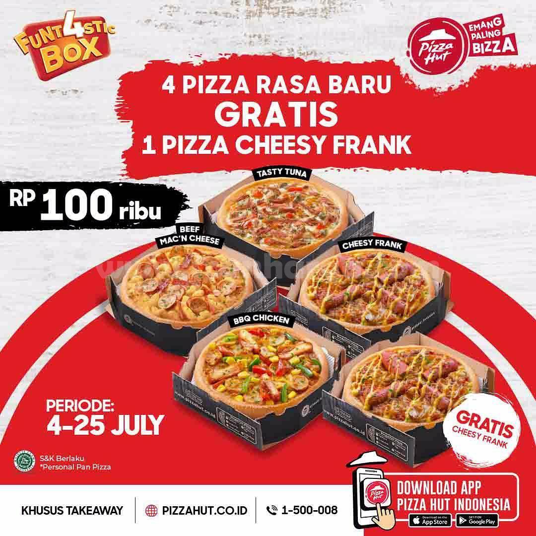 Promo Pizza HUT Periode 4 - 25 Juli 2021