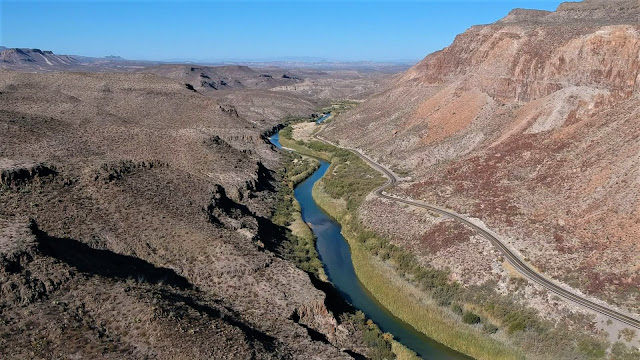 rio grande red canyons big bend ranch state park texas