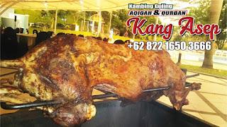kambing guling low and slow barbeque di lembang