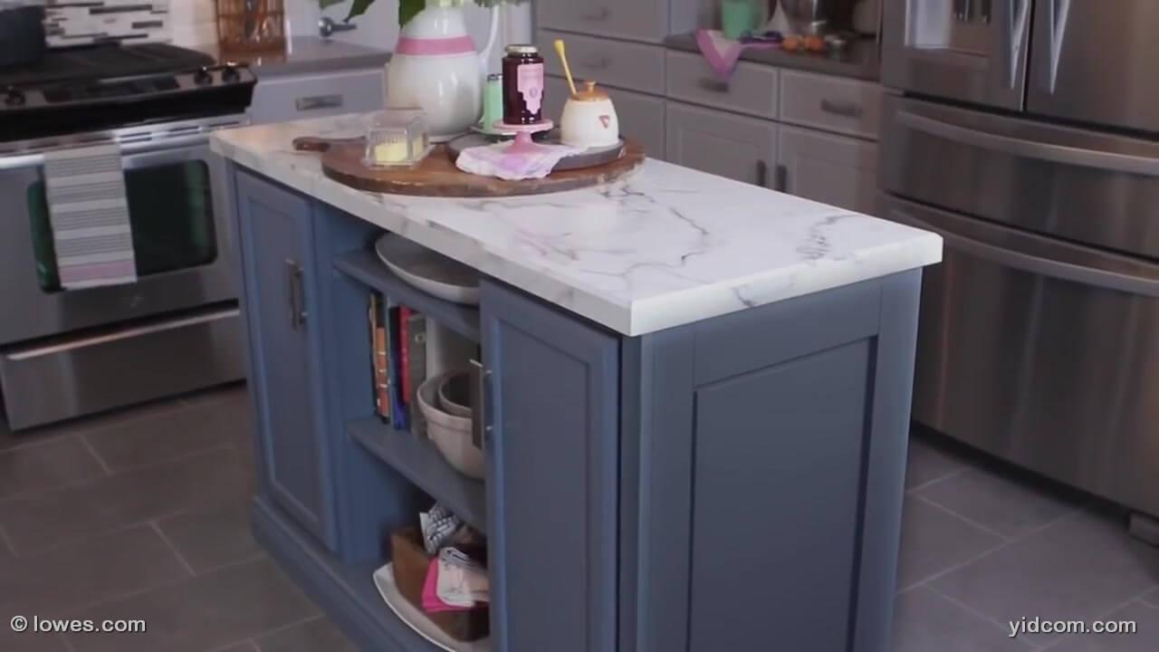 Como construir un mueble de cocina mueble isla mueble - Muebles auxiliares cocina ...