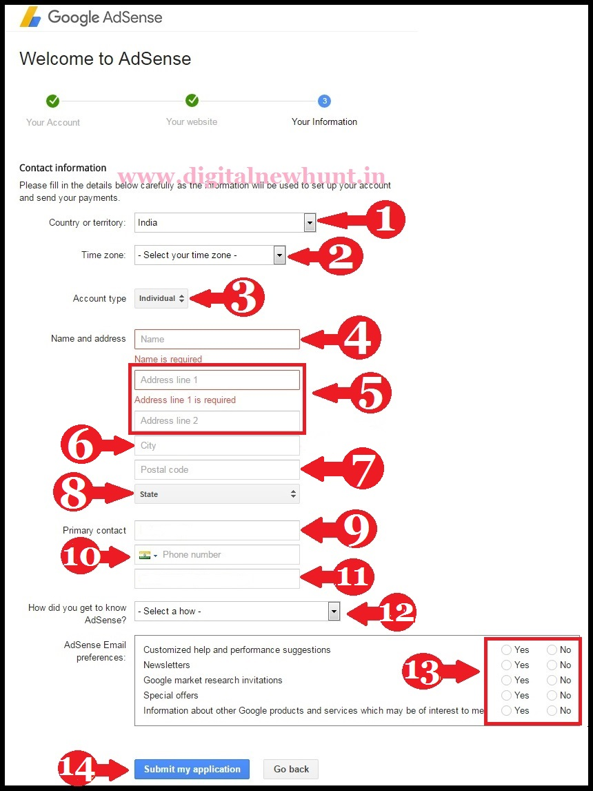 Adsense sign up submission forum